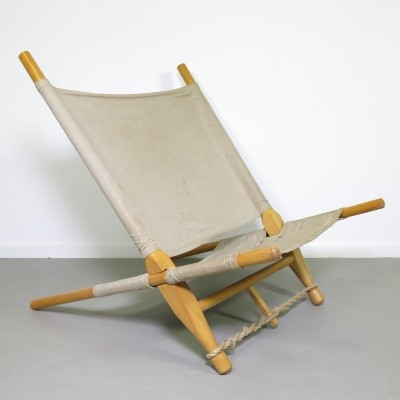 Saw lounge chair from the fifties by Ole Gjerløv Knudsen for Cado