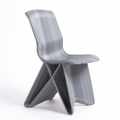 Dirk Vander Kooy 3d endless chair in recycled material