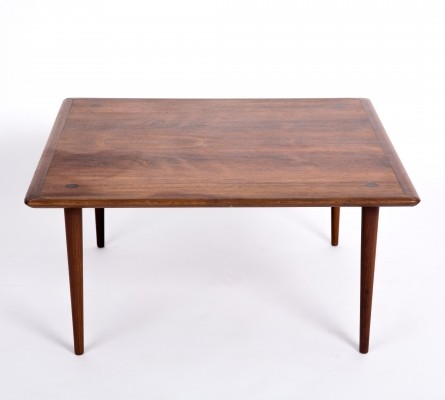 Danish side table in rosewood