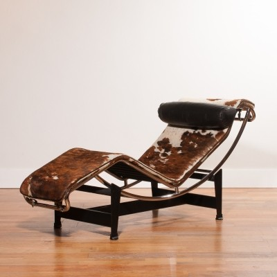 LC4 lounge chair from the sixties by Le Corbusier for Cassina