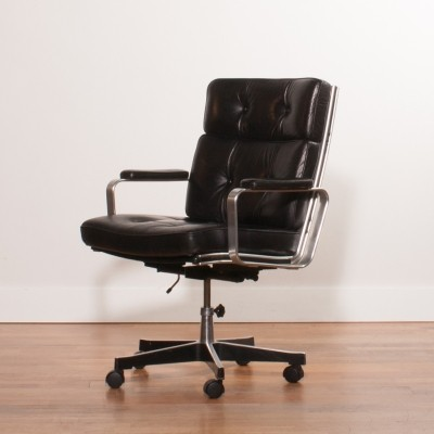Office chair from the seventies by Karl Erik Ekselius for unknown producer