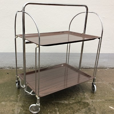 Serving trolley from the fifties by unknown designer for Bremschey