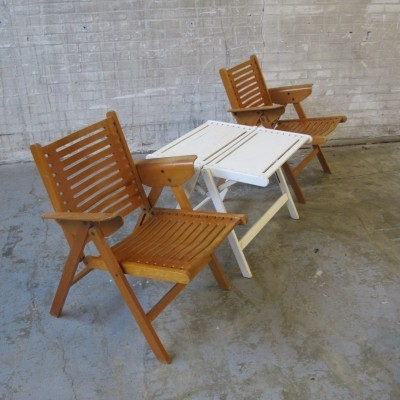Seating group from the fifties by Niko Kralj for Stol