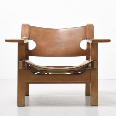 Spanish arm chair from the fifties by Børge Mogensen for Fredericia Stolefabrik