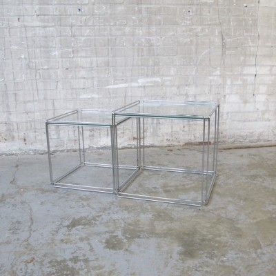 Nesting table from the seventies by Max Sauze for Max Sauze Studio