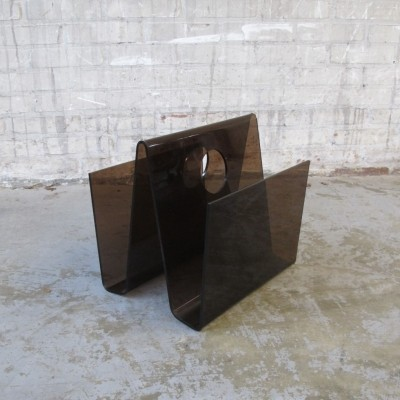 Magazine holder from the seventies by unknown designer for unknown producer
