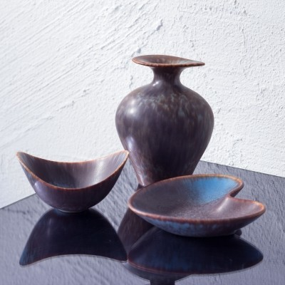 Organic shaped ceramics by Gunnar Nylund for Rörstrand, 1950s