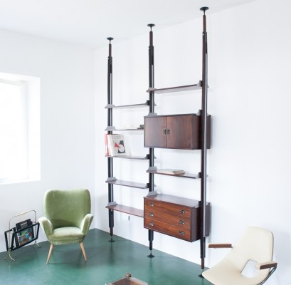Wall unit from the fifties by unknown designer for Stildomus