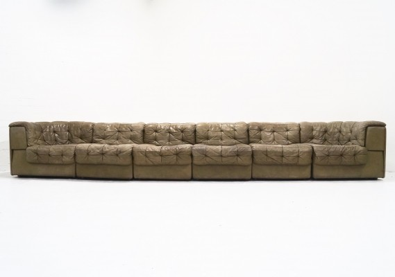 DS-11 sofa by De Sede Design Team for De Sede, 1960s