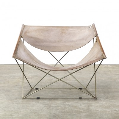F675 Butterfly lounge chair from the sixties by Pierre Paulin for Artifort