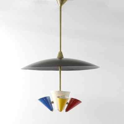 Stilnovo hanging lamp, 1950s