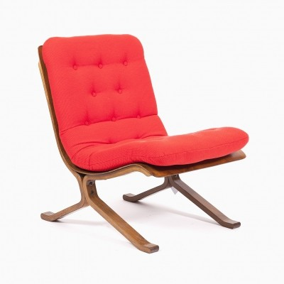 Lounge chair from the eighties by unknown designer for unknown producer