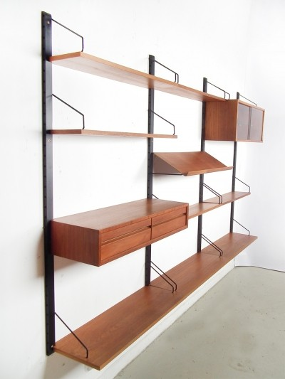 Wall unit from the forties by Poul Cadovius for Cado