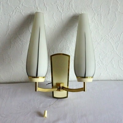 Wall lamp from the sixties by unknown designer for Kaiser Leuchten