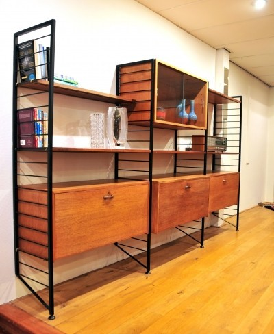 Ladderax wall unit from the sixties by unknown designer for Staples