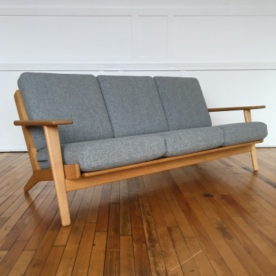 GE-290 sofa from the fifties by Hans Wegner for Getama