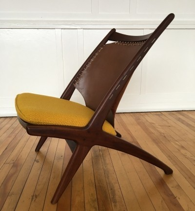 Krysset lounge chair from the fifties by Fredrik Kayser & Adolf Relling for Gustav Bahus
