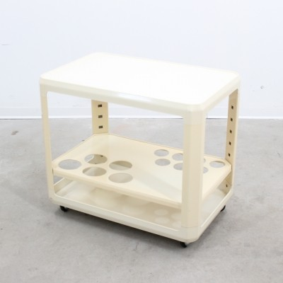 Serving trolley from the sixties by unknown designer for Kartell