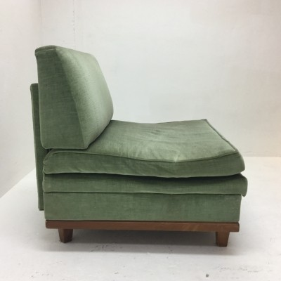 Guestbed lounge chair from the fifties by unknown designer for unknown producer