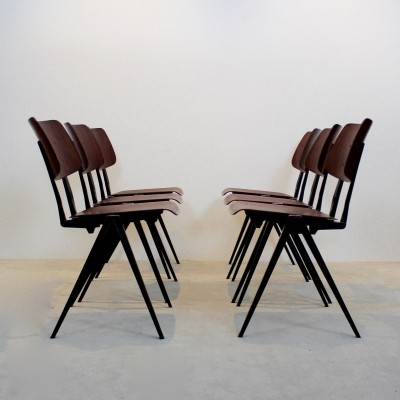 60 Galvanitas S16 dinner chairs from the sixties by unknown designer for Galvanitas