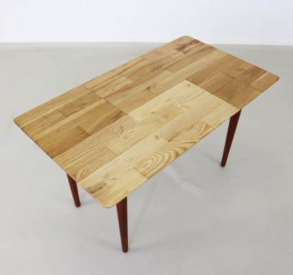 Nicely handmade coffee side table by Slagelse Møbelværk Denmark