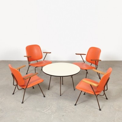 Seating group by W. Gispen for Kembo, 1950s