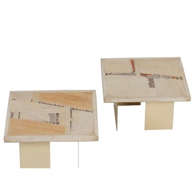Off-White coffee table from the eighties by Paul Kingma for Kingma