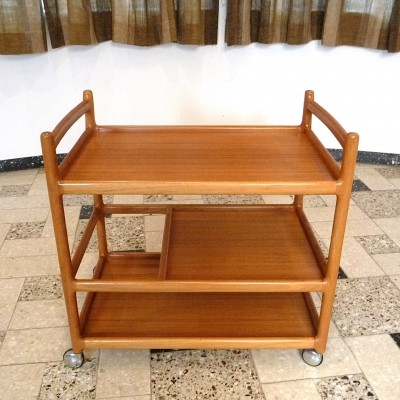 Serving trolley by Johannes Andersen for CFC Silkeborg, 1960s