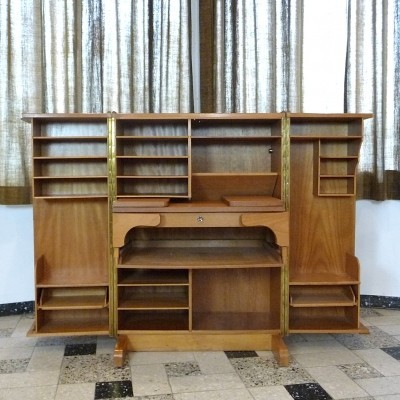 Magic Box writing desk from the fifties by unknown designer for Mummenthaler & Meier
