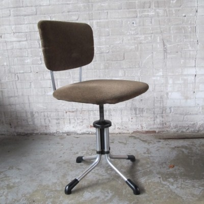 Office chair from the fifties by unknown designer for Gispen