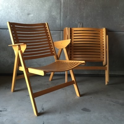 Set of 2 Rex arm chairs from the sixties by Niko Kralj for Stol