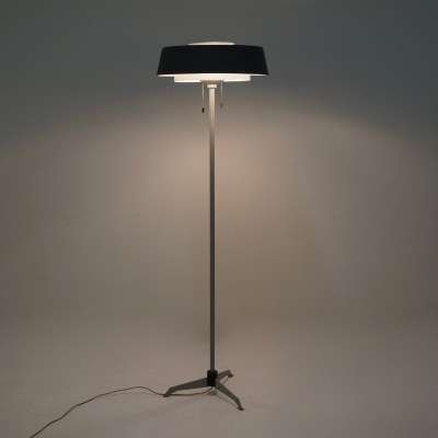 Floor lamp from the fifties by Niek Hiemstra for Hiemstra Evolux