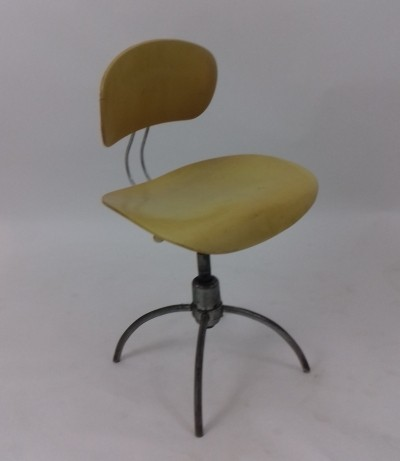 Office chair from the fifties by Egon Eiermann for Wilde und Spieth