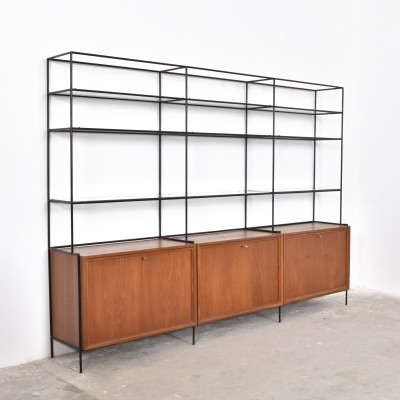 Abstracta wall unit from the fifties by Poul Cadovius for Royal System