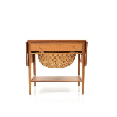 AT 33 Sewing table from the fifties by Hans Wegner for Andreas Tuck