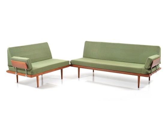 Minerva seating group from the sixties by Peter Hvidt & Orla Mølgaard Nielsen for France & Son