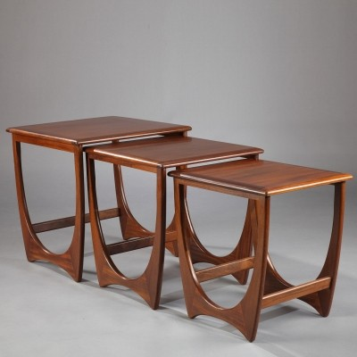 Set of 3 Astro nesting tables by Victor Wilkins for G Plan, 1960s