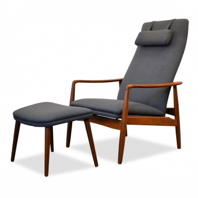 Lounge chair by Søren Ladefoged for SL Mobler Denmark, 1960s