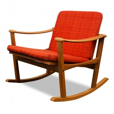 Rocking chair from the sixties by Finn Juhl for M. Nissen