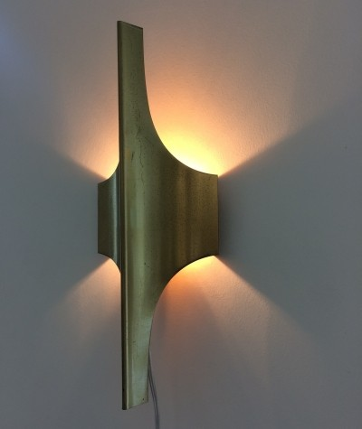 Wall lamp from the sixties by unknown designer for Doria Leuchten