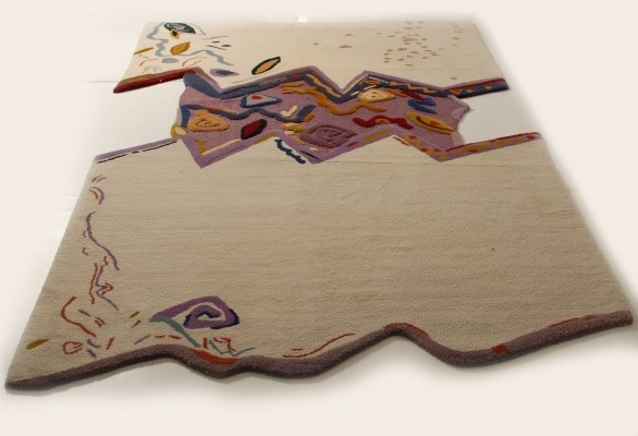 Rug from the nineties by Carlo Malnati for unknown producer