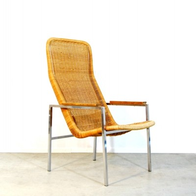 Model 727 arm chair by Dirk van Sliedregt for Gebroeders Jonkers, 1960s