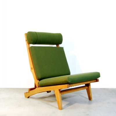 Model AP 71 lounge chair from the sixties by Hans Wegner for AP Stolen