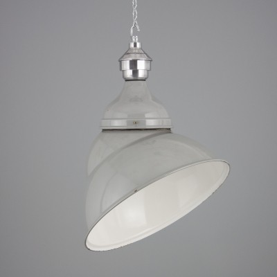 2 hanging lamps from the fifties by unknown designer for Benjamin