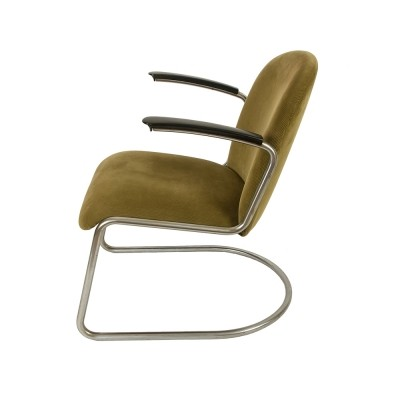 413 L arm chair by W. Gispen for Gispen, 1950s