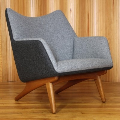 Lounge chair by Illum Wikkelsø for Mikael Laursen, 1950s