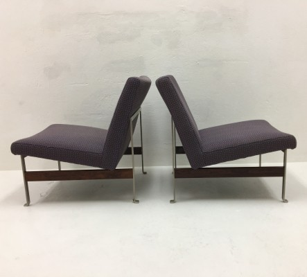 Set of 3 lounge chairs from the sixties by Kho Liang Ie for Artifort