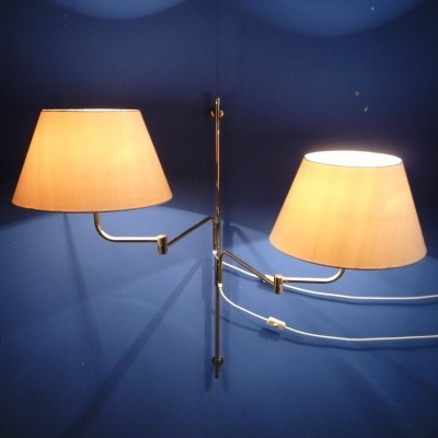 Wall lamp from the sixties by unknown designer for Swiss Lamps International Zürich