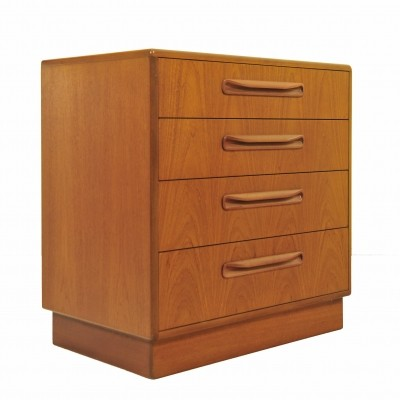Chest of drawers from the sixties by unknown designer for G plan