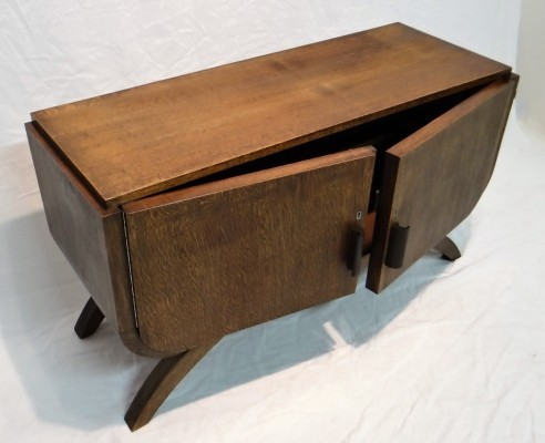 Art Deco cabinet from the forties by unknown designer for unknown producer